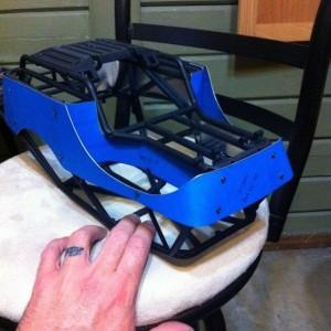Axial Wraith Rear Inner Fenders